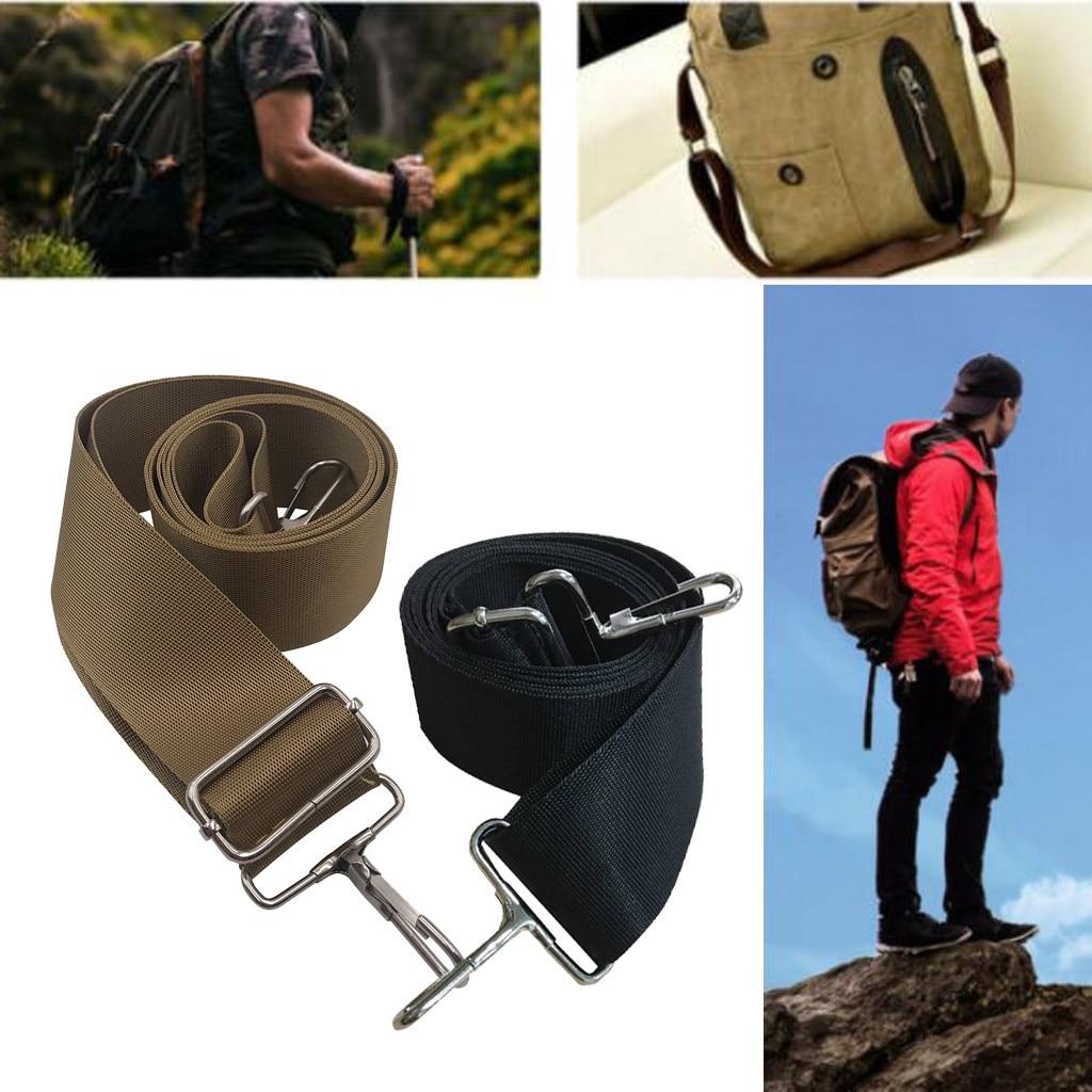 Replacement Solid Strap Cross Body Handbag Portable Balck Brown Belt 1 Pc 1.5 M Long Belt For Adjustable Nylon Shoulder Bag Belt