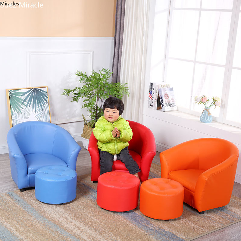 Children's Kid's Mini-lazy Sofa Chair Single Lovely Girl's Chair Kindergarten's Baby's Sofa Nordic Bean Bag Bed Gift