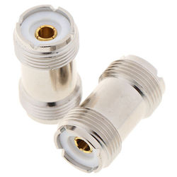 SO-239 PL259 UHF Female to Female RF Coax Cable Adapter Connector SO239 coaxial Adapter 1pc