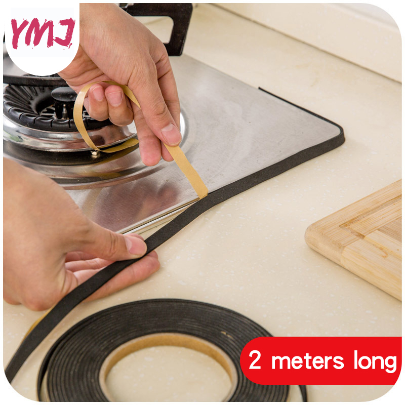 2M Soft Self-adhesive Window Sealing Strip Gap Strip Car Door Noise Insulation Rubber Dusting Sealing Tape Window Accessories