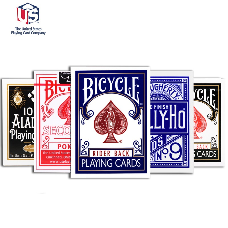 Bicycle Blank Face Red Back Deck Playing Cards Rider 808 USPCC 4 Magic Tricks