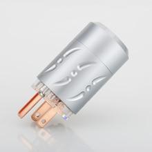 Viborg VM512 Pure Copper US AC Power Plug US male AC Power Plug Connector Us AC mains Power Plug connector Pure copper