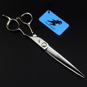 Image 5 - חם 7.0 אינץ נושאות בורג ללטף ברבר מספריים שיער חיתוך גזירה מספרה מספריים סלון ציוד כלי ברבר מספריים