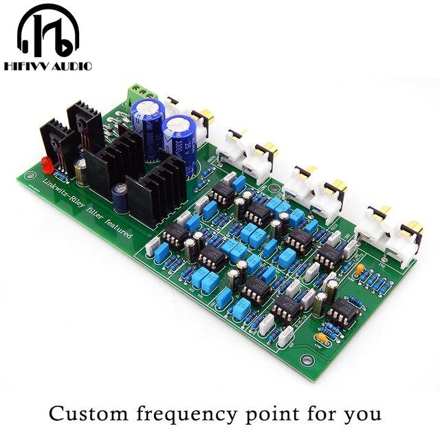 Перекрестная электрическая Частотная разделительная сетевая Электроника Linkwitz Riley усилитель 3 полосная разделительная плата частоты