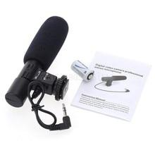 Mic-01 3,5mm DV Stereo Mikrofon für Canon Nikon DSLR Camcorder