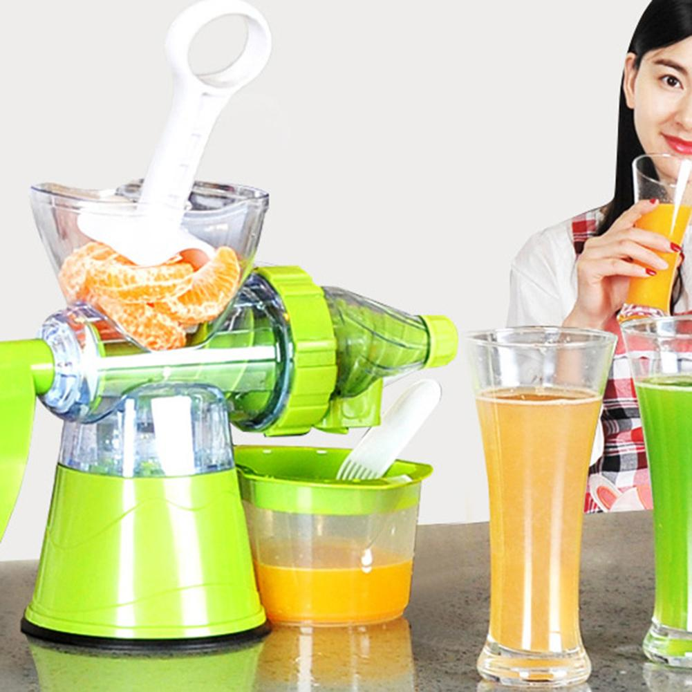 Juicer Extractor Fruit-Ice-Cream-Machine Manual Multifunctional Squeezer Crank Vegetable-Wheatgrass title=