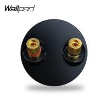 Wallpad L6 – panneau de câblage de sortie, 5 couleurs, Module de prise Phono à 2 broches, bricolage, combinaison libre