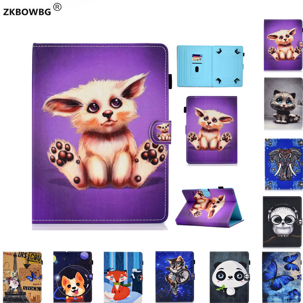 PU Leather Cartoon Case for <font><b>Digma</b></font> <font><b>CITI</b></font> <font><b>1903</b></font> <font><b>4G</b></font> 10.1 inch Tablet Folio Stand Protective cover Sleeve Bags Cases image