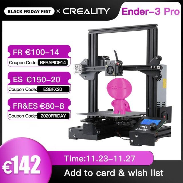 Yeni CREALITY 3D yükseltme 3D Ender 3 Pro/Ender 3 ProX yazıcı kiti Cmagnetic dahili etiket özgeçmiş baskı ile marka güç tedarik
