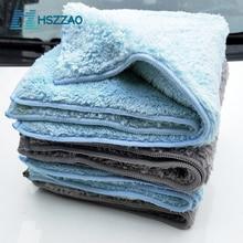 40x40cm Car Wash Waxed crystal Microfiber Towel Car Cleaning Drying Cloth Hemming Car Care Cloth Detailing Car Wash Towel