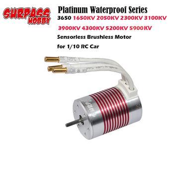 Platinum Waterproof Series 3650 1650KV 2050KV 2300KV 3100KV 3900KV 4300KV 5200KV 5900KV Brushless Motor for 1:10 RC Car