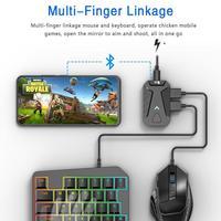 Convertitore adattatore Mouse per tastiera da gioco Mobile Bluetooth 5V per Pubg per IPhone 11 Xs Pro Max X XR 8 Plus Pad Android e IOS