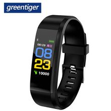 Greentiger IT120 Farbe Bildschirm Smart Armband Sport Smart Band Herz Rate Monitor Fitness Tracker Android IOS VS ID115 PLUS Y5