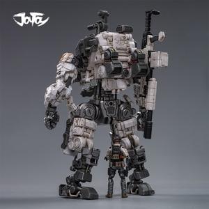 Image 2 - (2pcs/lot)JOYTOY 1/25 action figure robot Military Steel Bone Armor Gray Mecha Collection model toys Christmas present gift