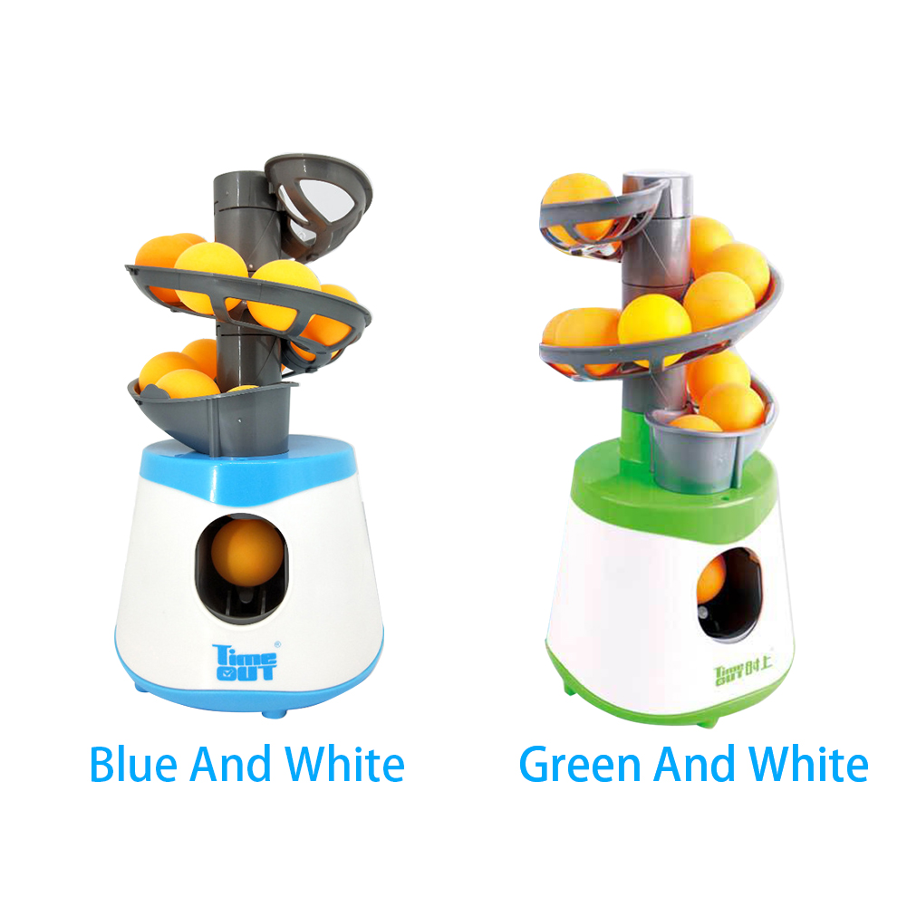 Exercise Outdoor Portable Ball Machine Trainer Serve Table Tennis Pitcher Battery Powered Equipment Pong Launcher Kids Children-1