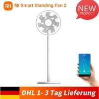 Xiaomi Mi Smart Standing Fan 2 voice control doppie pale per una brezza naturale tutto intorno raffreddamento motore cc velocità a 100 livelli