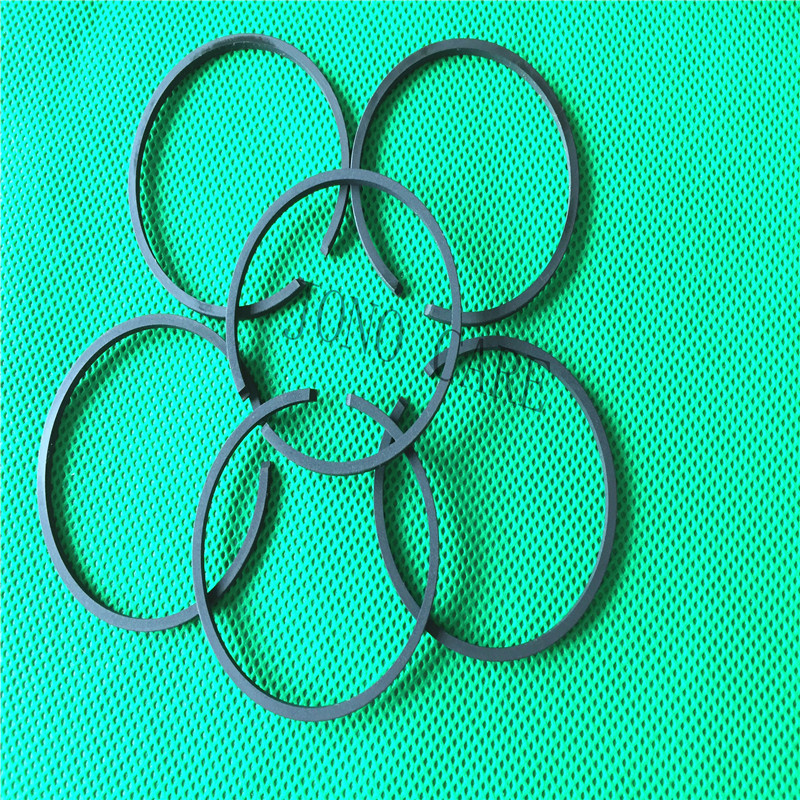 6pcs 44mm Brush Cutter Piston Ring For Chinese Mitsubishi Brushcutter 52CC 1E44F-5 CG520 BC520 BG520 TL52 Grass Strimmer 44F-5