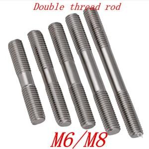 2pcs/lot M6 M8*30/35/40/45/50/