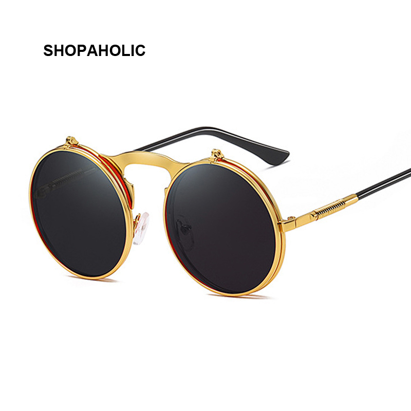 Oversize Steampunk Sunglasses Men Women Celebrity Sun Glasses Male Driving Superstar Luxury Brand Designer Female Shades