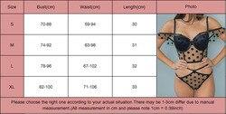 Meiihuida, женское сексуальное нижнее белье, эротическое, прозрачное, в горошек, кружевное, Сетчатое, без рукавов, укороченный топ, стринги, набор... 5