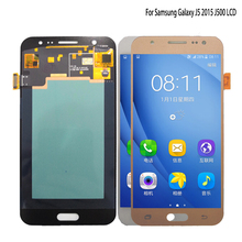 AMOLED For SAMSUNG Galaxy J5 2015 J500 LCD Display Touch Screen J500H J500FN J500F J500M SM-J500F Screen LCD Digitizer Display new tested lcd for samsung galaxy j5 j500 j500f j5008 screen display with touch digitizer tools assembly 1 piece free shipping