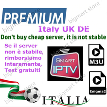 italy android box support iptv with smart tv X96MINI m3u eni