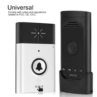Mini 2.4G Wireless Voice Intercom Doorbells Two Way Talk Home Doorbell Intercom Kit Home Security System Smart Home Electronics