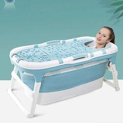Baignoire pliante corps entier pour enfants | Pour adultes, baignoire pour enfants, Portable, baignoire isolation du bain de natation, Design ergonomique