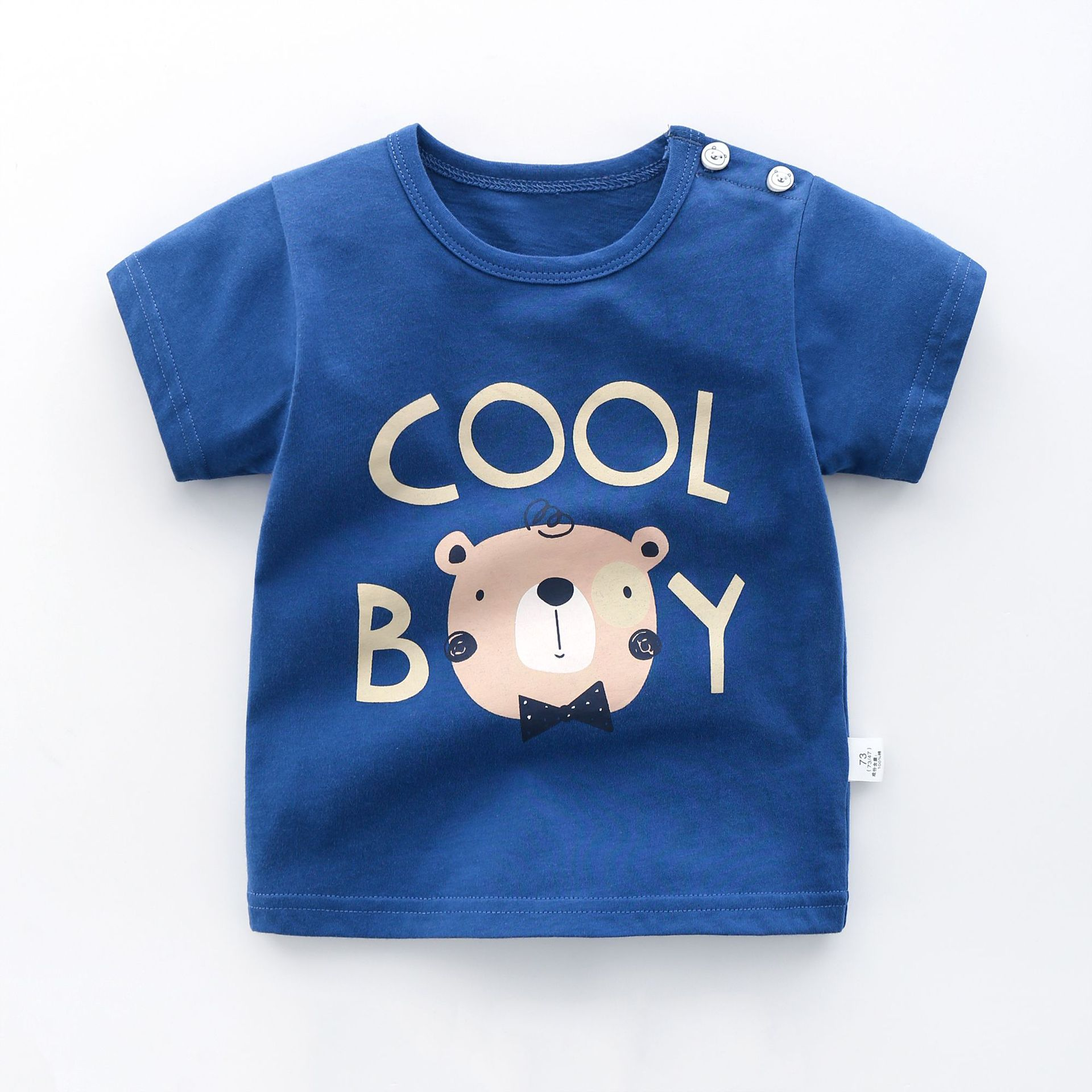 Infant Boys Girls Soft Tee Sun Sleep T-Shirt 6M-24M