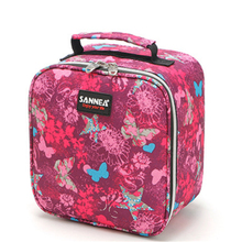 Functional Pattern Cooler Lunch Box Portable Insulated Canvas Lunch Bag Thermal Food Picnic Lunch Bags For Women Kids Girls