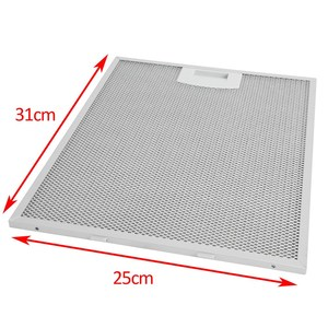 Image 4 - Cooker Hood Mesh Filter (Metal Grease Filter) Replacement For Balay 3 BC8126 1 Pieces