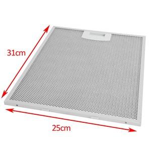 Image 4 - Filtro de malha da capa do fogão (filtro de graxa do metal) substituição para balay 3 bd7104xp 1 peças