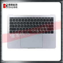 Original topcase eua teclado backlight trackpad para macbook retina pro 13