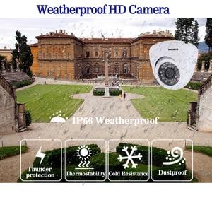 Image 4 - HD 5.0MP 1/3 ソニーセンサー 2592*1944 1080P 5MP AHD ドームカメラ CCTV IR カットフィルターカメラルームナイトビジョン 4CH ホーム監視キット