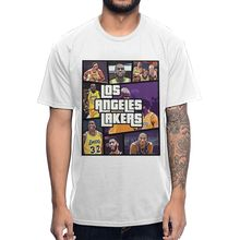 Lakers Lebron James Kobe Byrant T Shirt PU27