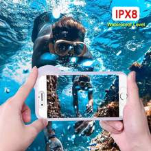 Universal Waterproof Case For Samsung Galaxy J3 J4 J6 Plus J7 Duo J8 2018 J3 J5 J7 2017 Cover underwater Photography Pouch Bag(China)