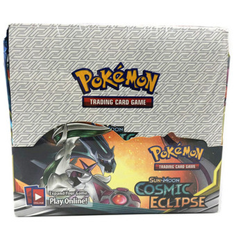324pcs Pokemones cards Cosmic Eclipse Edition in English version Booster Box Collectible Trading Cards Game for kids 2