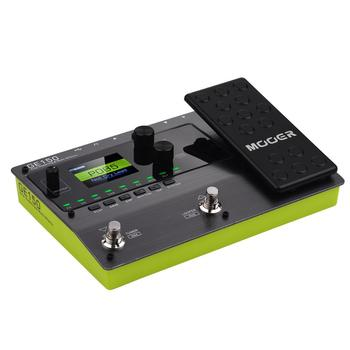 MOOER GE150 guitar pedal Amp Modelling & Multi Effects Pedal 55 Amplifier Models guitar pedal guitar accessories MOOER pedal mooer acoustikar guitar simulator effect pedal mini electric guitar effects truebypass with free connector and footswitch topper