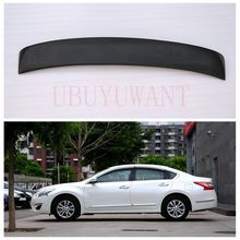 For Nissan Altima Teana Rear Roof Spoiler FRP Material Primer Color Car Tail Wing Decoration For AltimaTeana 2013 2014 2015 2016