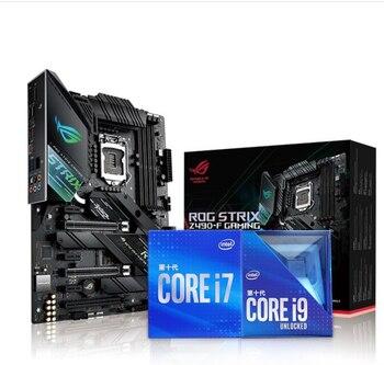 ASUS ROG STRIX Z490-F GAMING motherboard +I9-10900K/I7-10700K kit