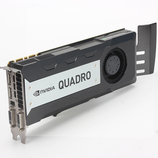 Leadtek NVIDIA Quadro K6000 12GB GDDR5 Professional graphics card, high-end rendering design graphics card used like new