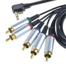 Cabo de cabo componente do adaptador de vídeo da tevê av do fio da ligação para psp 2000 3000 psp2 psp3