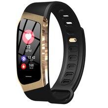 Fino inteligente pulseira de fitness rastreador atividade chamada mensagem lembrete pressão arterial monitor freqüência cardíaca à prova dwaterproof água