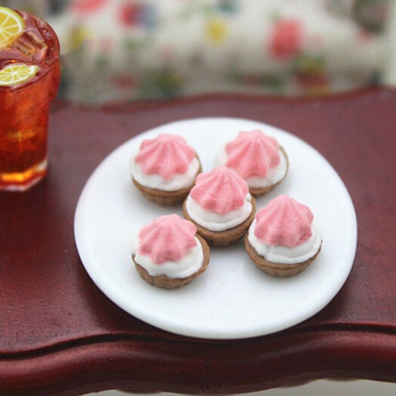 1//12 Dollhouse Miniature Kitchen Food Cakes Dessert Donut Accessory E9T5