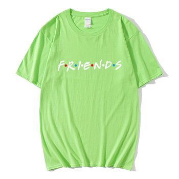 20 Summer 100% Cotton  Friend Printed T-shirts Men/Women  Fashion Girl Tee  Cool Funny Tops High Quality Jogger Tracksuit