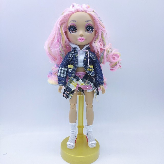 New Slem poopsie Big Sister Limited Edition Surprise Rainbow High School Fashion Hair Doll bella doll  Series 11 Inch Puppets 6