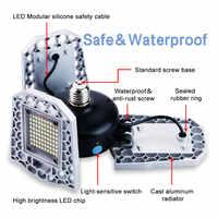 E27 LED ampoule 60W 80W 100W lampe de Garage E26 lampe à LED 220V lumière LED 110V lumière déformable Parking intérieur éclairage industriel 2835
