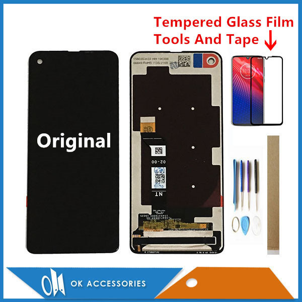 """6.3"""" For Motorola Moto One Vision P50 XT1970 / One Action XT2013 XT2013 1 LCD Display With Touch Screen Digitizer With Kits"""