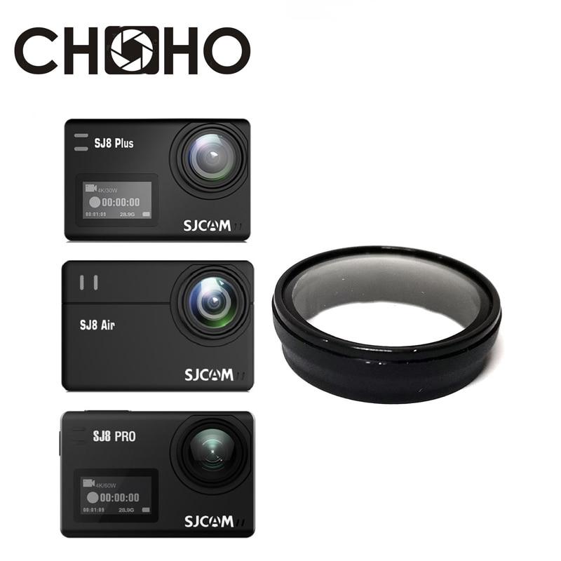 UV Filter Cover Lens Protective Optical Glass Lente Cover Filters For SJCAM SJ8 Sj8Plus SJ8Pro SJ8Air Camera Accessories