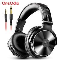 Oneodio Over słuchawki douszne Hifi Studio słuchawki DJ przewodowy Monitor muzyka gamingowy zestaw słuchawkowy słuchawka do telefonu komputer PC z mikrofonem